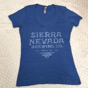 Tops - Sierra Nevada Brewing Co. V Neck Top sz s
